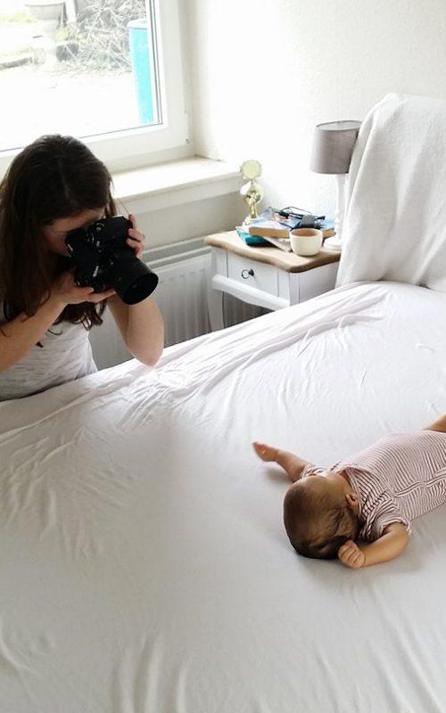 So bin ich zur Babyfotografie gekommen